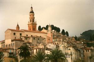 Old Town in Menton
