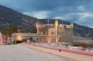 The Citadel in Menton
