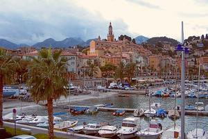 Menton on the Côte d'Azur