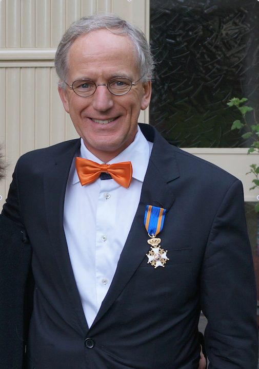 Radiologist Jelle Barentsz Knighted