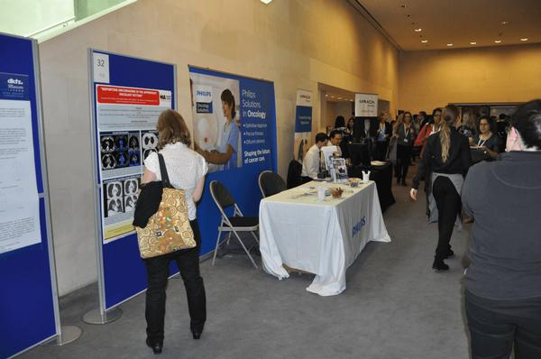Delegates in the Scientific Exhibition