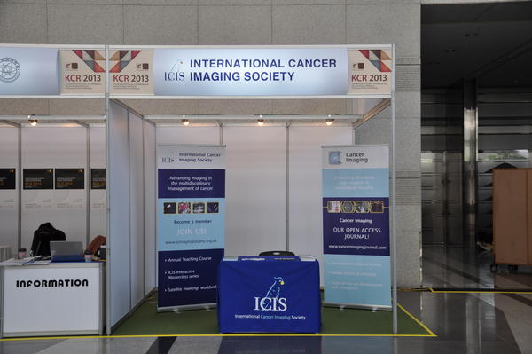 ICIS Society stand at Korean Congress of Radiology